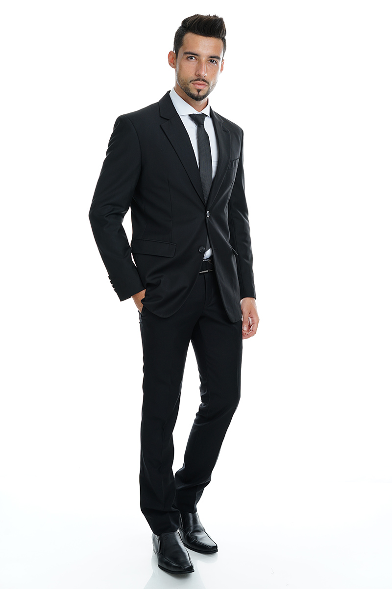 smartmaster black suit with white shirt smart master